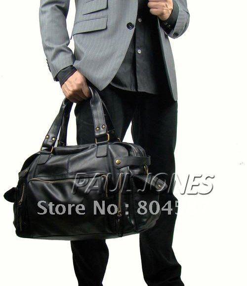 Гаджет  Free Shipping!Men PU Leather Large Korean Gym Duffle Carry On Travel Messenger Satchel Casual Shoulder Bag Tote BG167 None Камера и Сумки