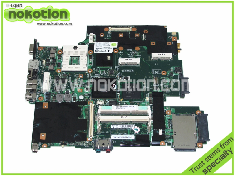 63Y1421 63Y1427 Laptop Motherboard for Lenovo Thinkpad T500 System Board DDR3 GM45  15.4 Mainboard Full Tested<br><br>Aliexpress