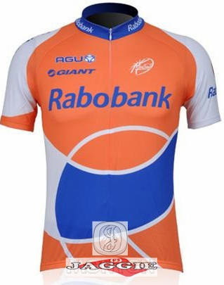 RABO BANK Giant 2010 Team Short Sleeve Cycling Jersey/T Shirt Sweater Top Only(China (Mainland))
