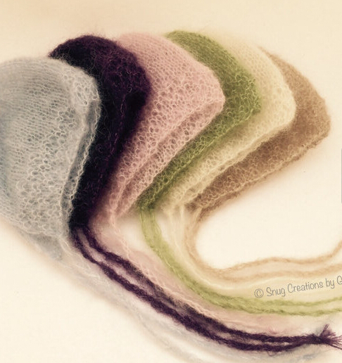 Mohair hat The newborn photography props(China (Mainland))
