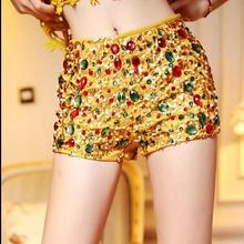 new fashion imported triangle  heavy beaded shorts feminino embroidery Sequin pearl shorts women high waist shorts 065(China (Mainland))