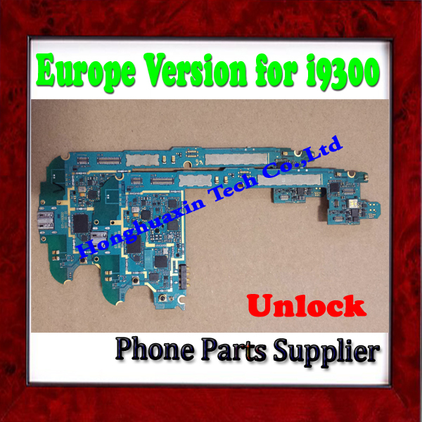 Europe Version & 100% Original Unlocked Mother Board For Samsung Galaxy S3 i9300 Motherboard Free Shipping(China (Mainland))