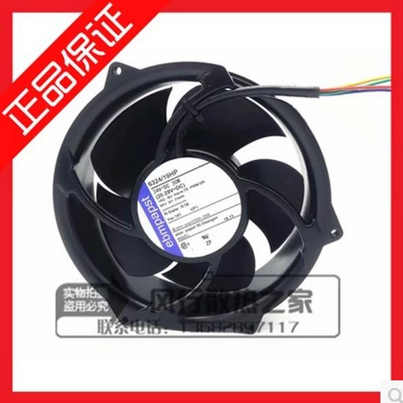 100%New original Free Shipping ebmPAPST 6324/19HP 24V 30W BKV 301 216/94 Cooling Fan<br><br>Aliexpress