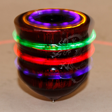 Spinning Top Toys Laser Color Flash Manual LED beyblade music children's free spinning top toys(China (Mainland))