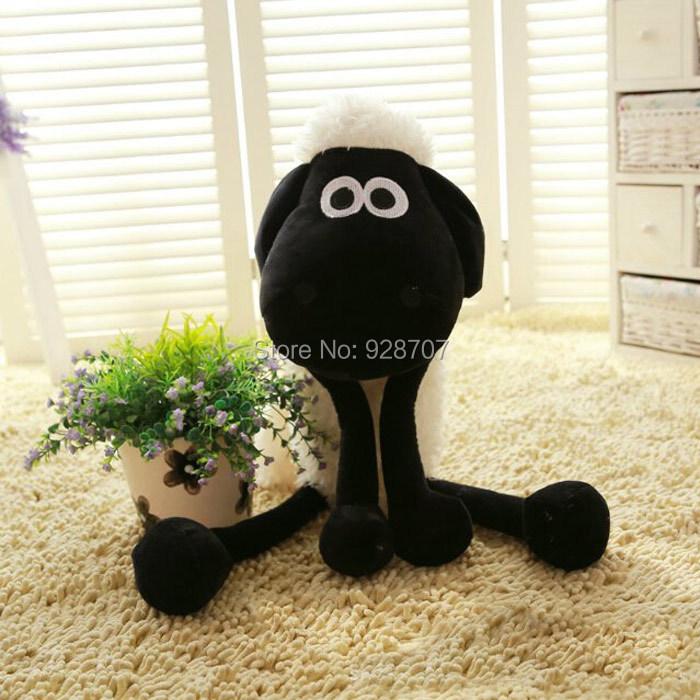 25cm 10inch Shaun The Sheep Lamb Plush Toys Dolls For Girl's Birthday Holiday Gift Soft Toy(China (Mainland))