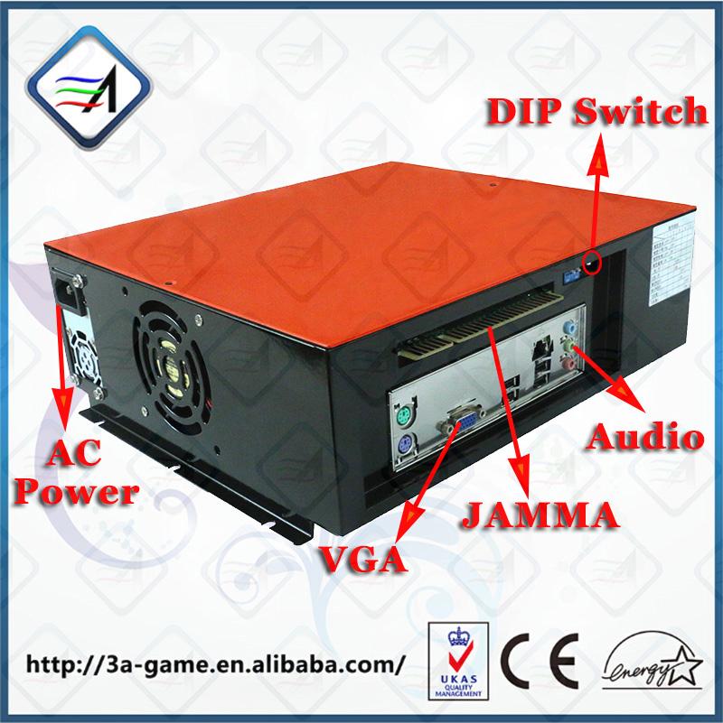 Arcade Kits Video Game Under Defeat Vertical Screen Flight Shooting Simulator Mothergame Board Game Console Arcade Machine Kits(China (Mainland))