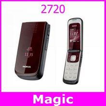 2720 Unlocked Original Nokia 2720 cell phone one year warranty  Free shipping