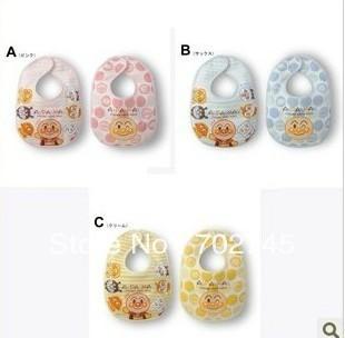 Здесь продается  Anpanman Baby Bibs Baby Saliva Towel Infant Cartoon Cotton Pinny 2pcs/Package  Детские товары