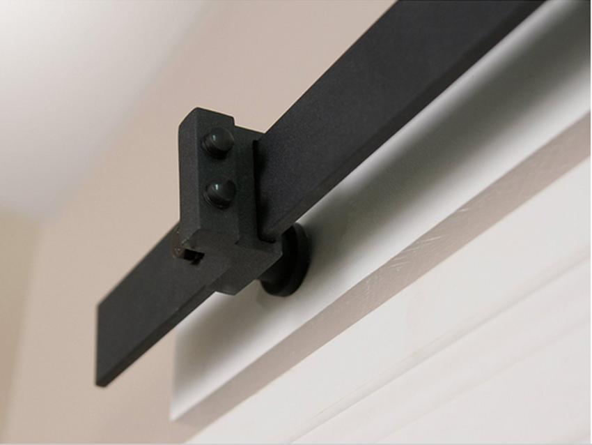 Free shipping rustic black double sliding barn door for 12 foot sliding barn door hardware