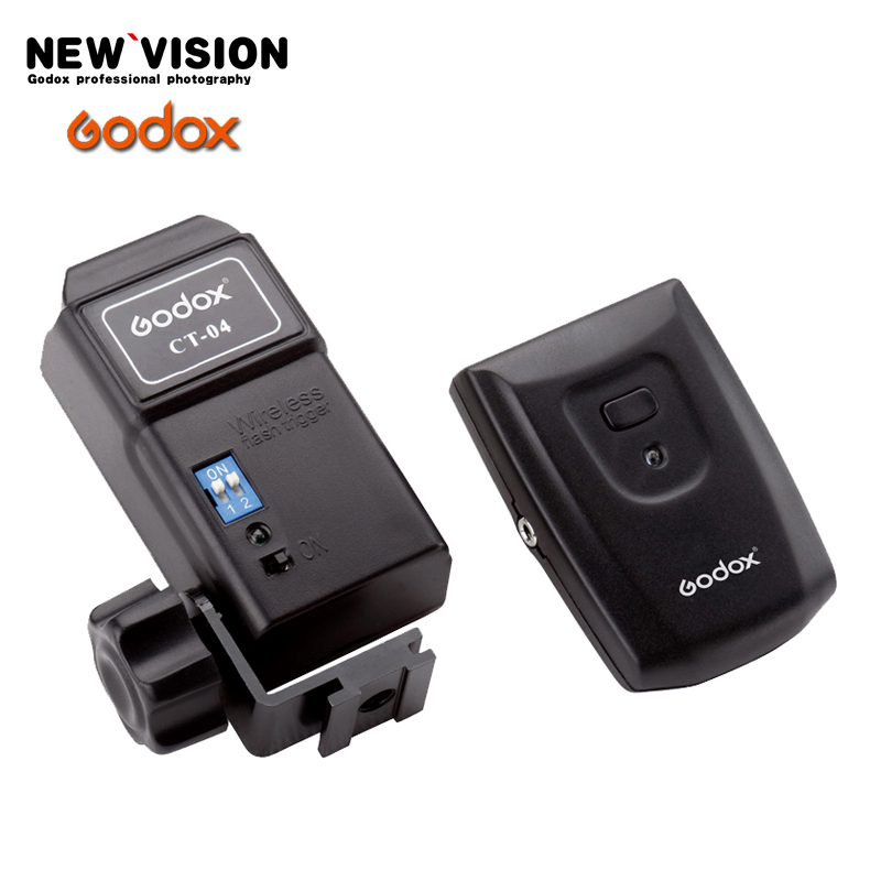 Godox CT-04 4-Channel Wireless Remote Flash Radio Trigger 433MHz 1/200s low Voltage Trigger for Camera Flash For 580EXII 580EX(China (Mainland))