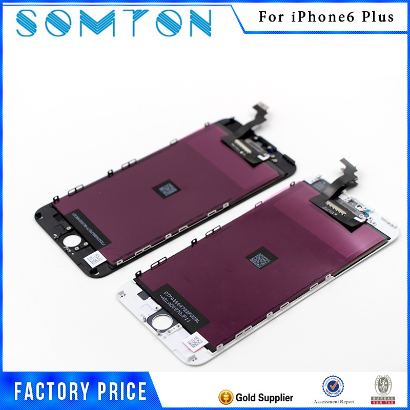 Grade A+++Quality Mobile Phone LCD Display For iphone 6Plus lcd Touch Screen Digitizer Assembly Free Shipping