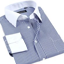 Men Dress Shirts 2015 New Wrinkle Resistant Slim Fit Formal Long Sleeve Fashion Brand Elegant Shirts E1432(China (Mainland))