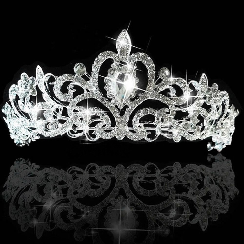 2015 Vintage Peacock Crystal Tiara Bridal Hair Accessories For Wedding Quinceanera Tiaras And Crowns Pageant Rhinestone Crown 41(China (Mainland))