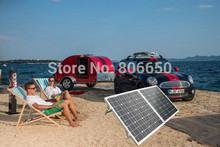 New USA Stock Hot* 100 Watt 18V MONO Folding solar panel for 12v battery&car free shipping(China (Mainland))