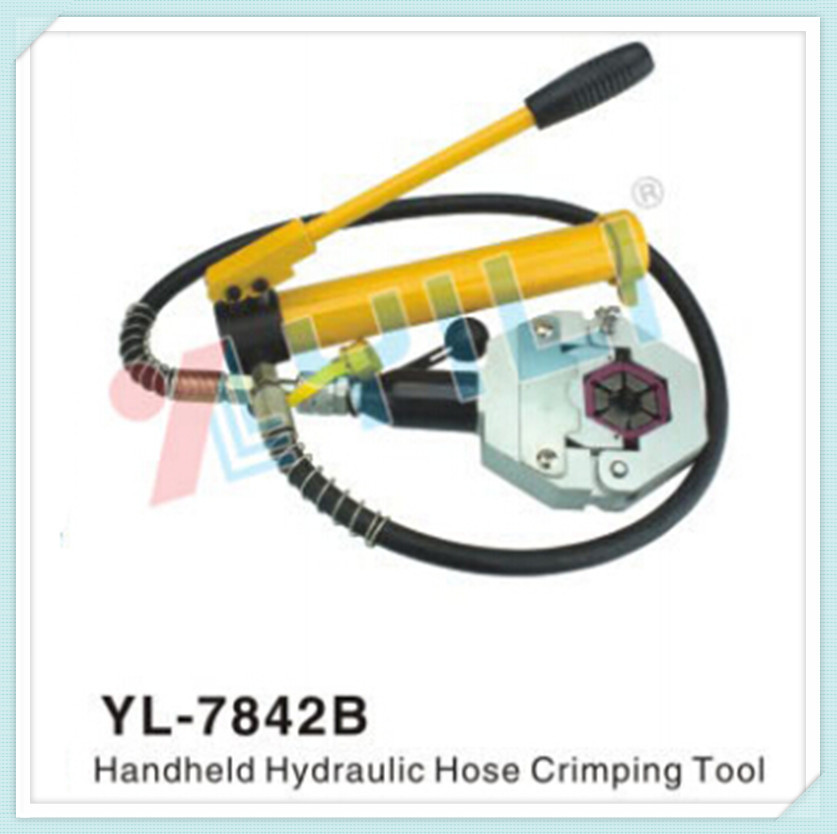 7842b separable hydraulic crimping tool handheld hydraulic hose crimping tool a c repair. Black Bedroom Furniture Sets. Home Design Ideas