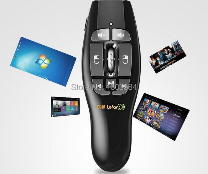 2.4GHz Wireless Air Fly Mouse + Universal IR Remote Control for PC Smart TV Android TV Box(China (Mainland))