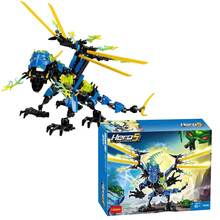 Decool Hero Factory 5.0 Star Soldier Action Figure Dragon Bolt Plastic Building Blocks Bricks Toys for Children dada