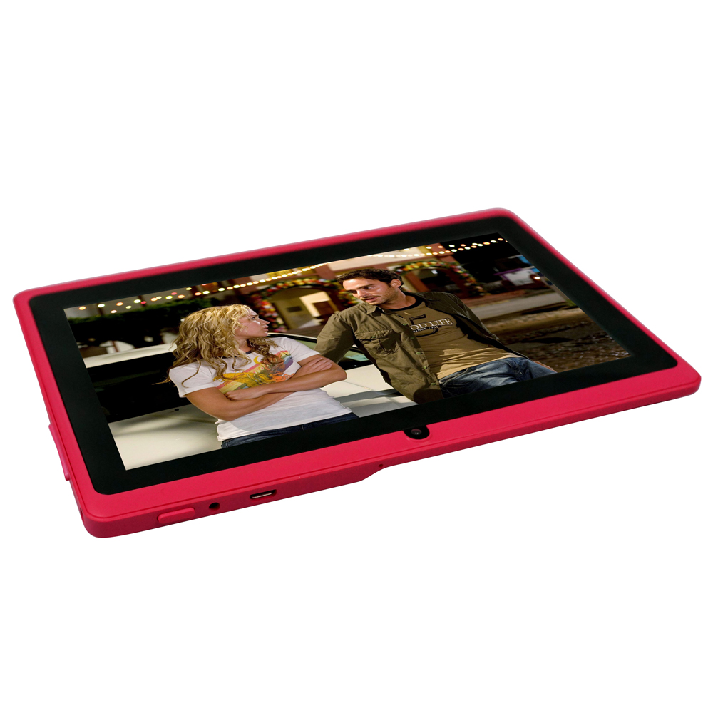 Yuntab 7 Inch 8G Q88 Allwinner A33 Quad-core Tablet PC Google Android 4.4 Touch Screen 1024*600 with Dual Camera