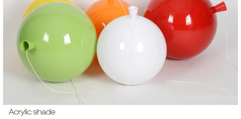 Novelty Color Balloon Ceiling Lights Modern Style Restaurant A Living Room light Children Bedroom Lamp lamparas de techo