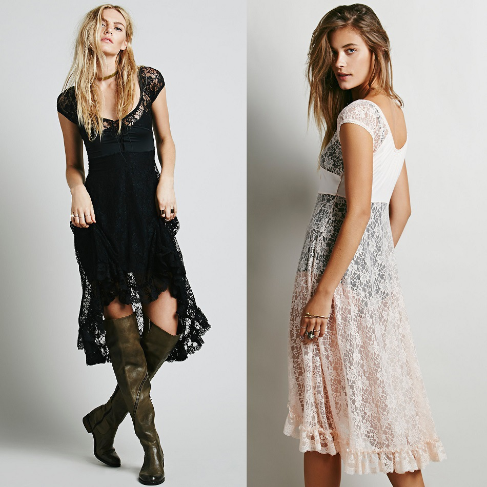 Boho Hippie Style Clothing Wholesale dresses Sheer Hippie Boho