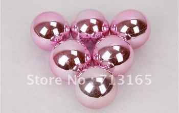 free shipping!6 cm plating light christmas ball Christmas tree decorated ball wedding decoration ball,24pcs/lot