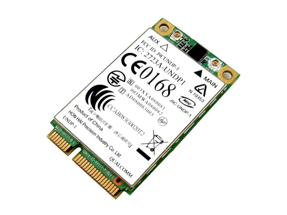 New A + S#rra Qualcomm Gobi1000 Mini PCIe 3G GPS EVDO HSDPA WWAN Wlan Wireless Wifi Card Card for HP UN2400 483377-002(China (Mainland))