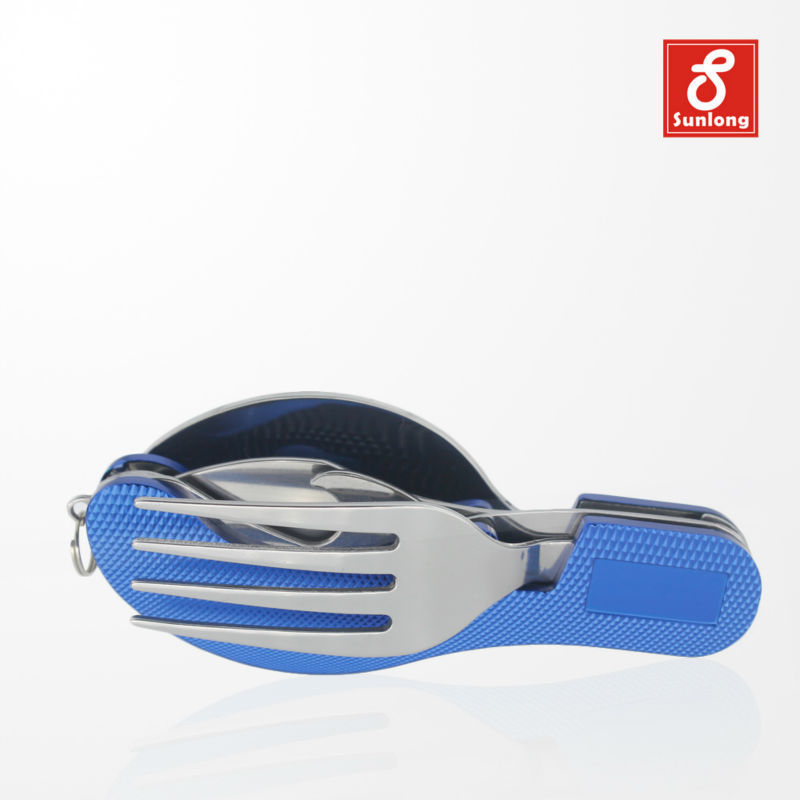 2015 New Acampamento Capinhas Camping Cookware Tool Camping Tableware Stainless Steel Portable Foldable Outdoor Free Shipping(China (Mainland))