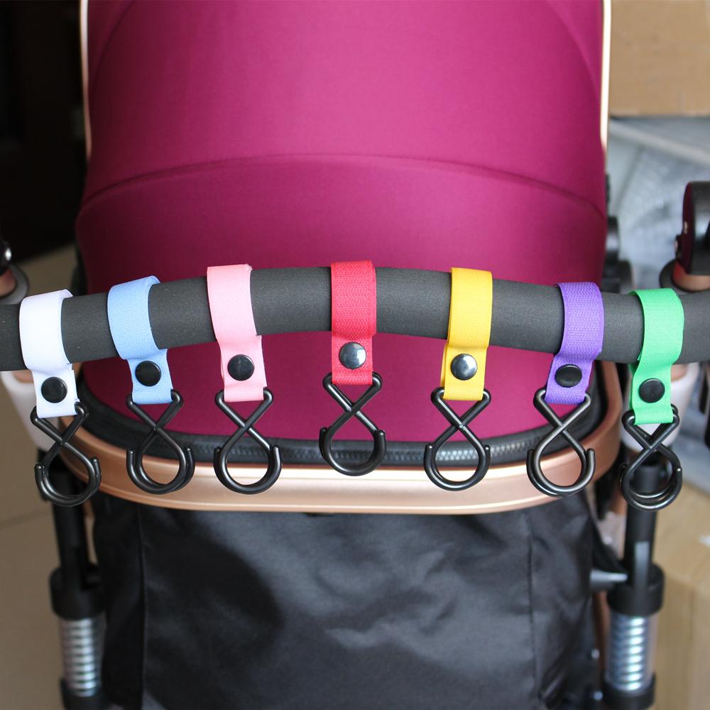 3 Pcs/Lot Maclaren Yoya Baby Stroller Accessories Organizer Hooks Pram Pushchair Hanger Hanging Carriage Double Promotion Hot(China (Mainland))