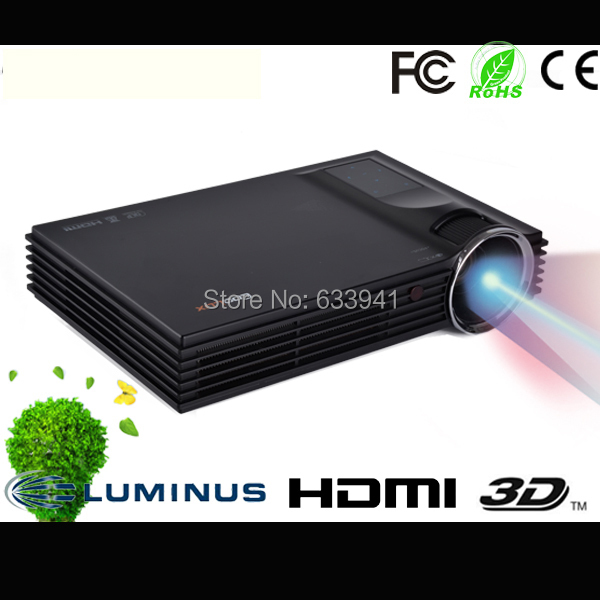 Free Shipping Coolux S1 1500lm 10000:1 DLP Win8 UI Full 3D LED Business Projector(China (Mainland))