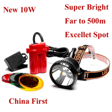 Buy Newest Brightest Cree 10W Led Headlight Mining Head Lamp Hunting Fishing head Light Free for $69.00 in AliExpress store