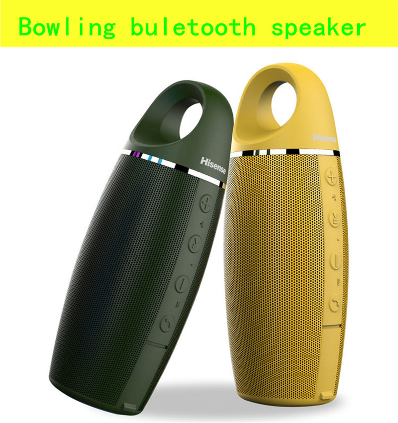 Newest portable bluetooth speaker 360 degree surround sound 180 degree surround bright lights portable bluetooth free shipping(China (Mainland))
