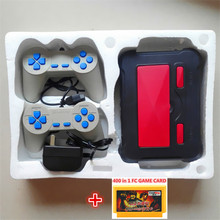 8bit FC Classic video game console game FC player machine with controllers + 400 in 1 games Card Classic game Free shipping(China (Mainland))