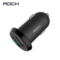 Dual Usb Car Charger Adapter Rock 2 usb Port Led 2 4A Smart Car charger for