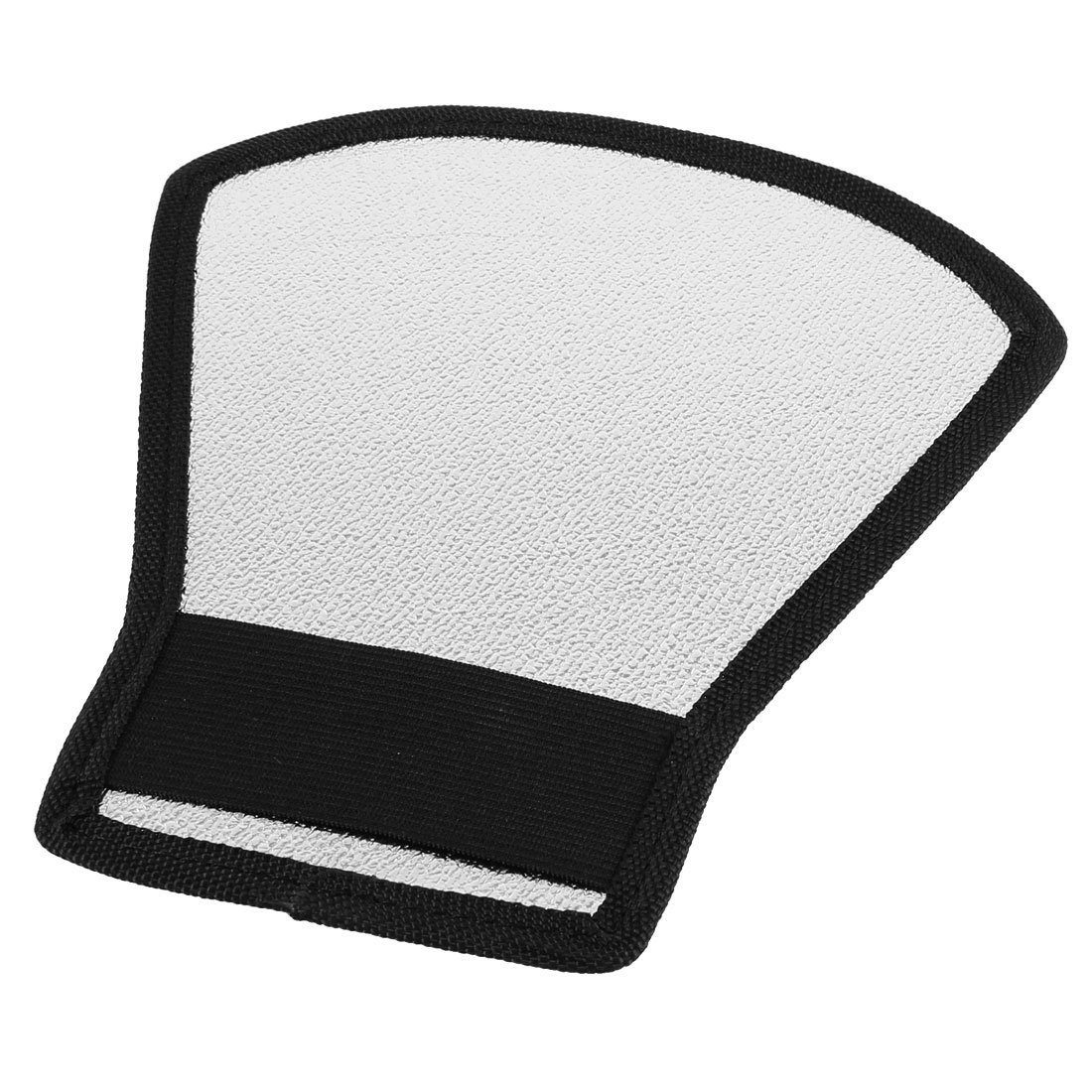 White Silver Tone Flash Light Barrier Reflector for SLR Camera(China (Mainland))