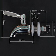 Stainless Steel Spigot/Faucet Tap for Beverage Wine Beer Drink Dispenser Parts Bar Kitchen Tools (China (Mainland))