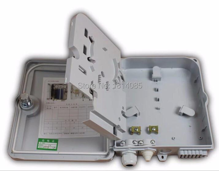 12 port FTTH Fiber Optic Termination Box 1X12 Core ABS Outdoor Fiber Optic Distribution Box ,FTTH box , FTTH distribution box(China (Mainland))