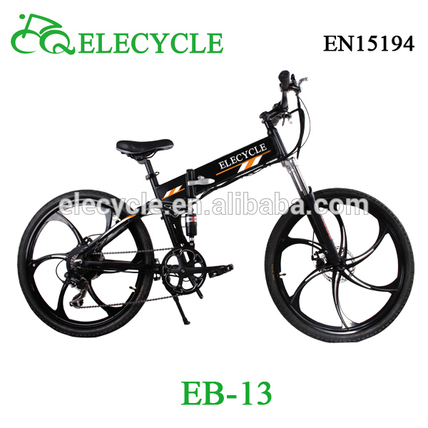 ELECYCLE Eb13 3 350W 36V foldable folding Mountain Electric Bike Electric Bicycle e bike chinese jiangmen