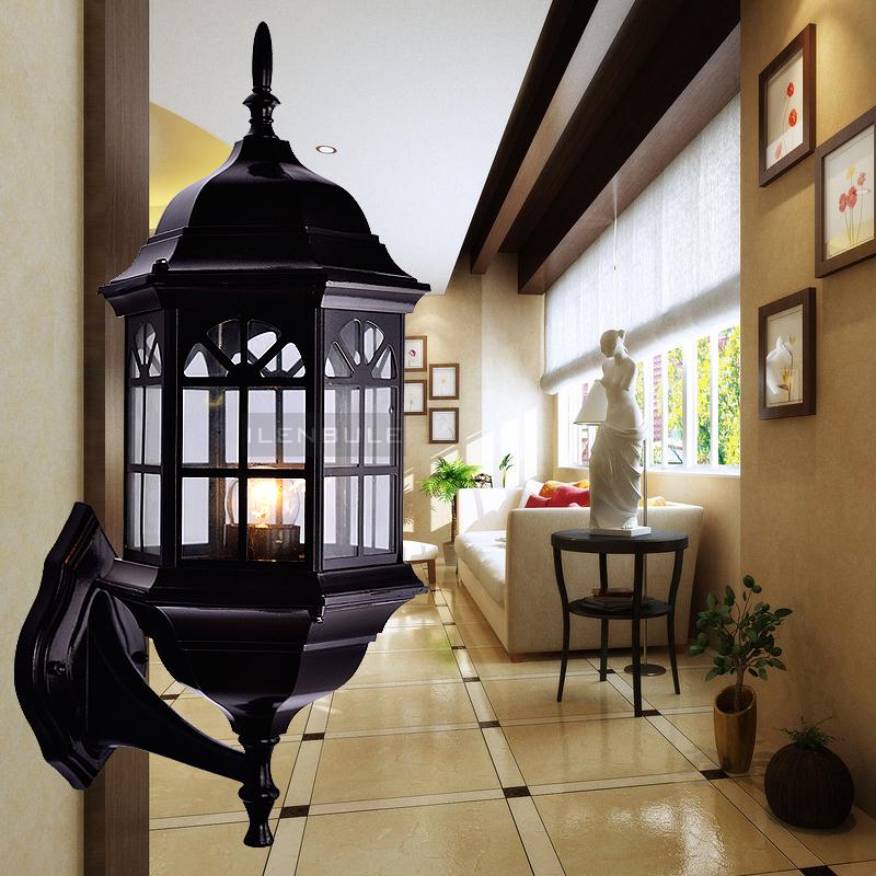 Ilenbule outdoor wall lamp fashion outdoor lamp balcony waterproof gazebo lighting fd02(China (Mainland))