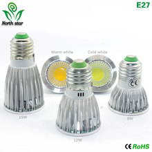 Buy 1pcs Super Bright 9W 15W 12W GU10/5.3 E27 E14 MR16 LED Bulb Spot Light Lamp 110V 220V Dimmable Recessed Lighting Warm Cool White for $1.84 in AliExpress store