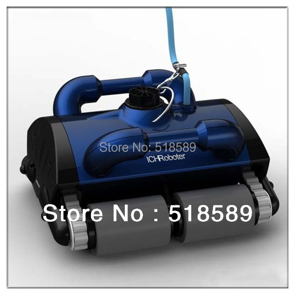 Robot swimming pool cleaner With Spot Cleaning, Wall Climbing+Remote Controller+15m Cable+Working Area:100m2-200m2(China (Mainland))