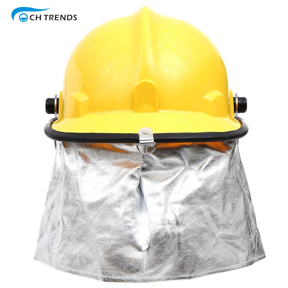 Fireman Helmet Safety Working Helme Fire Proof Fireman's Helmet With Google Amice Electric Shock Prevention Flame-retardant(China (Mainland))