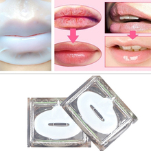Effective Crystal Collagen Lip Mask Moisturize and nourishing exfoliating lip care dilute lip color wrinkles killer A2