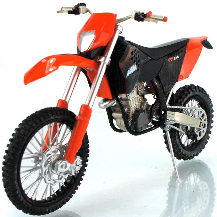 2013 HOT ! Junki 1:12 KTM 450 EX-C With suspension Alloy Cross-country motorcycle Model ! freeshipping ! 5colors to choose(China (Mainland))