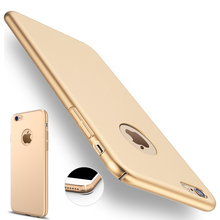 iphone 7 plus Case Gold Black Luxury Thin Back Hard Armor Apple 6 6S 5 5S SE Cover Logo Accessories - ROX Store store