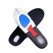 Buy 1 Pair Men Gel Orthotic Arch Support Sport Shoe Pad Running Gel Insoles Insert Cushion Shoe Pad L Men GUB# for $2.07 in AliExpress store