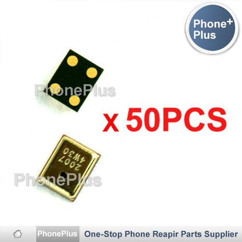 50PCS Microphone Inner MIC Replacement Part Free Shipping For HTC Dream G1 Magic G2 Hero G3 Tattoo G4 Nexus One G5(China (Mainland))