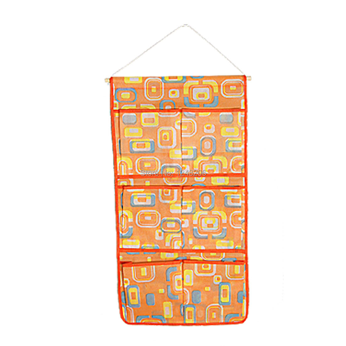 Nonwoven Fabric Orange 6 In 1 Long Hang Up Bag for Home Discount 50(China (Mainland))