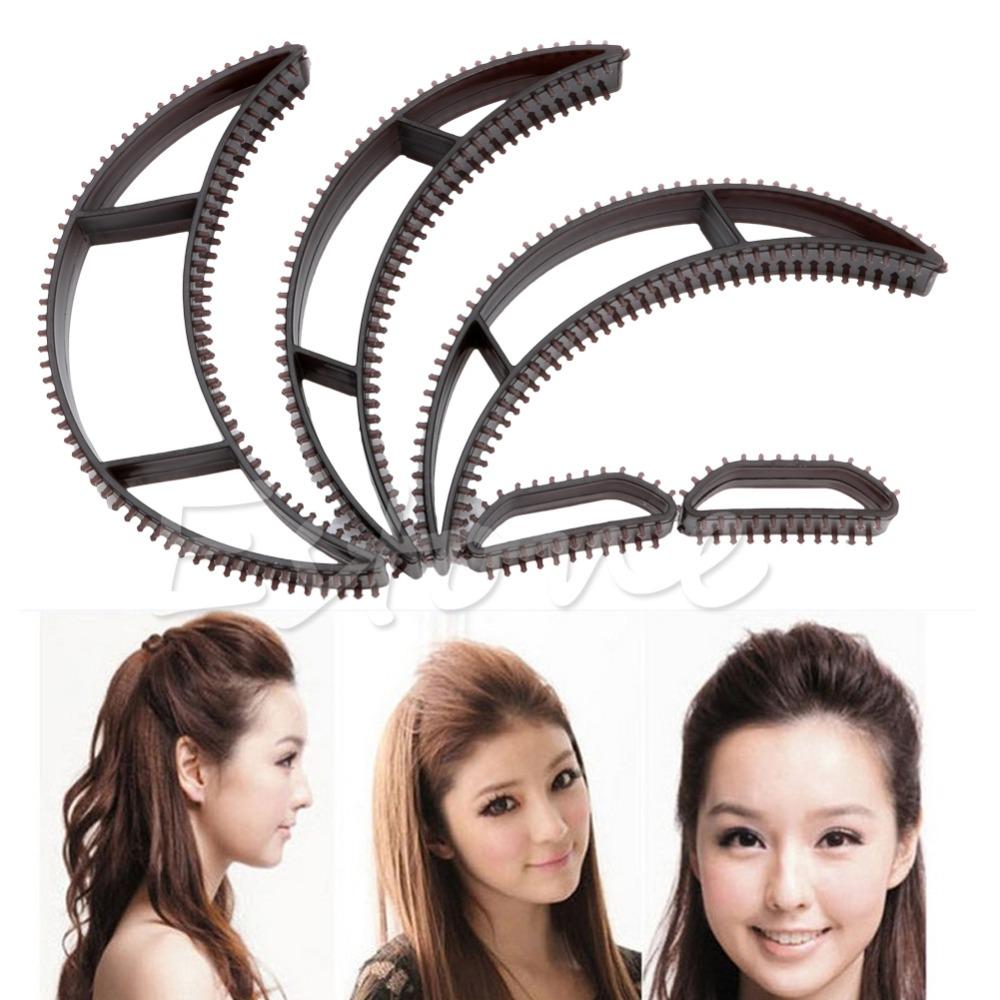 """S105""""5 Pcs/set Bumpits Big Happie Hair Volumizing Inserts Hair Pump Beauty Tool Gift(China (Mainland))"""