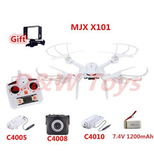 Professional RC Drone MJX X101 2.4G RC quadcopter drones rc helicopter 6-axis can add C4005 c4008 c4010 camera FPV Real-time