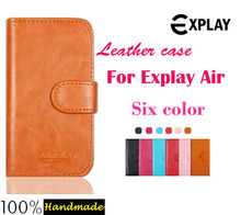 Buy Free High android phone leather case cover Explay Air case 6 colors choice card solts stock. for $4.59 in AliExpress store